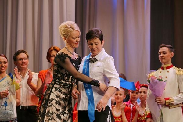 Лауреат премии «Служение танцу-2015» Е.П.Якимова